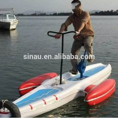 Look what I found Via Alibaba.com App: - hot sale high quality park water bike/sea water bicycle