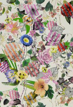 Malmaison Opiat wallpaper by Christian Lacroix