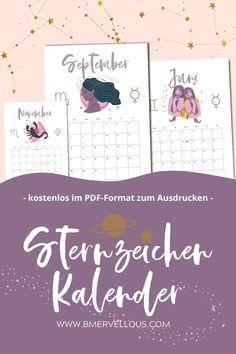 Du kannst den Kalender kostenlos herunterladen und ausdrucken Sternzeichen Kalender 2021 zum kostenlos ausdrucken #printable #Kalender #Sternzeichen #Horoskop