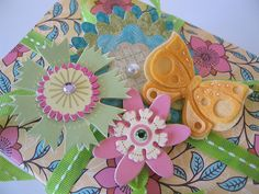 Gift toppers. #embellishment #wrapping #gift