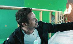 "brynndowney: "" Iron Man 3 gag reel (x) "" Marvel Films, Marvel Memes, Marvel Cinematic, Avengers Cast, Marvel Avengers, Iron Man Wallpaper, Guide To The Galaxy, Iron Man 3, Iron Man Tony Stark"