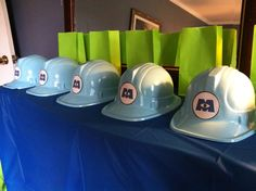 Monster's Inc. party hats monsters inc party by NorahandOllie, $30.00