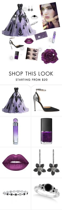 """""""Untitled #130"""" by gabbylara ❤ liked on Polyvore featuring Prada, Perry Ellis, NARS Cosmetics, Allurez and Lodis"""