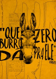 Frases famosas do seriado Chaves se transformam em pôsteres nas mãos de Giba Mendes - Designerd