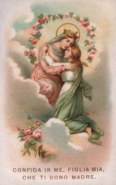http://www.catholicdoors.com/prayers/english3/p02358.htm  ...I have placed all my hope in thee as my Mother.  I bless and thank Almighty God,  because in His mercy He has given me this confidence in thee.  It is true that in the past I have shamefully fallen into sin;  but I trust that,  through thy prayers and the merits of Jesus Christ,  I have been forgiven. ...