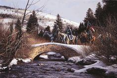 General Robert E. Lee and General Stonewall Jackson Near Fredericksburg, Virginia – Winter of 1863
