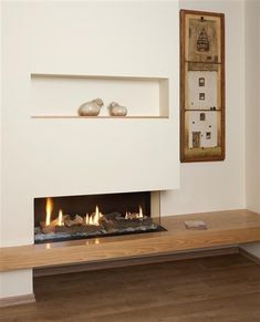 contemporary-fireplace-designs-Living-Room-Modern-with-built-in-shelving-contemporary | beeyoutifullife.com