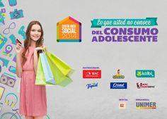 En #CRSocial 2014 presentaremos los datos del estudio #LoQueUstedNoConoceDelConsumoAdolescente. Se dará a conocer cómo es el mundo adolescente y su relación con las marcas, gustos y preferencias. Pronto más detalles.