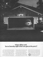 Ugly VW Bug 1966 Ad Picture