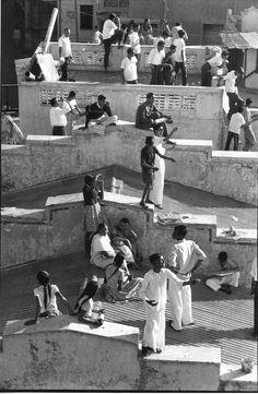 Henri Cartier-Bresson: Kite Festival in Ahmadabad, India (1966)