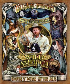 Marty Stouffer Wild America Half Acre Pale Ale Barley wine - Fort Smith   Arkansas