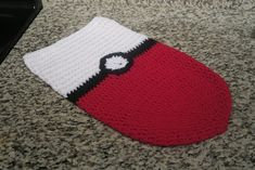 Organic Mom in the Kitchen: Crochet Pokeball Cocoon