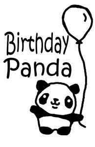 Creative Green Living: My Panda Bear is One! (and birthday panda shirt) - Panda Shirt - Ideas of Panda shirt - Creative Green Living: My Panda Bear is One! (and birthday panda shirt) Cute Panda Drawing, Cute Girl Drawing, Cute Drawings, Happy Brithday, Happy Birthday Funny, Happy Birthday Wishes, Niedlicher Panda, Panda Love, Panda Coloring Pages