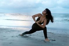 Sunset yoga before the storm by fpshabi on Free People
