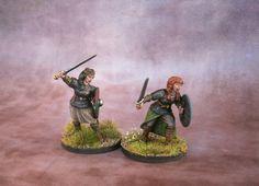 Jacksarge Brushes & Battles: Shieldmaidens!
