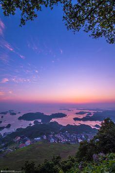 Kujuku Islands, Nagasaki, Japan 九十九島