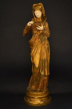 Estilo Art Deco, Antique Lamps, Bronze Sculpture, Chiparus, Victorian, Antiques, People, Tailgate Desserts, Art Deco Art