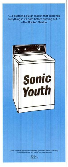 """Sonic Youth, """"Washing Machine"""" [1995] 
