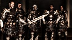 Skyrim: Penitus Oculatus - they look like a boy band Imperial Legion, Elder Scrolls Lore, Tes Skyrim, Game Of Thrones Artwork, Sword And Sorcery, Ancient Romans, New Life, Boy Bands, Character Art