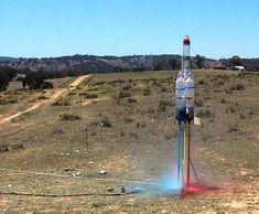 Soda Bottle Water Rockets