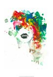 Black Lips Kunst van Lora Zombie