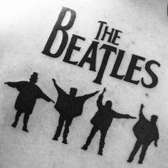 Tatuagem feita pelo mestre Edu. #tattoo #tatuagem #ink #thebeatles