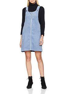 26a51edacb482b New Look Women s 5910990 Dress Blue (Mid Blue) 18 (Manufacturer Size 18
