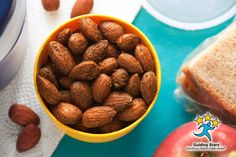 Spice-Roasted Almonds | 3 Guiding Stars