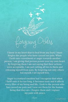 Affirmation - Forgiving Others by CarlyMarie