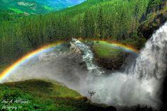 Krimml waterfalls, Austria Amazing Landscape.. (by Dr. Hani)