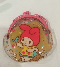 Bolsa de monedero My Melody Sanrio vintage hecha por TownOfMemories