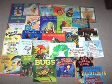 Scholastic Picture Books Lot 50 softcover Ages 4-8 Teachers Daycare Christmas