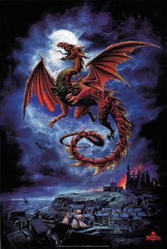 Dragón, noche