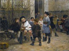 L'HEURE DU GOUTER   by  Henri Geoffroy