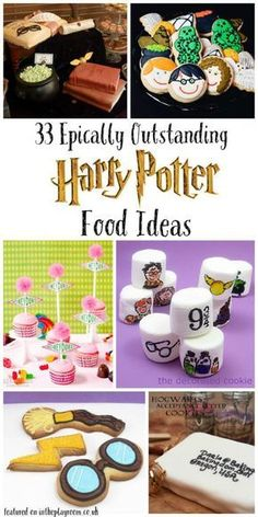 33 Epic Outstanding Harry Potter Food ideas for a Harry Potter party