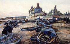 Ogden Minton Pleissner - The Coast of Normandy