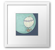 Framed Print Hot Air Balloon, My Design, Balloons, Framed Prints, Tapestry, Cabin, Products, Decor, Hanging Tapestry