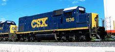 CSX 1536--GP15-1-Fairfax, IA. 8/22/12