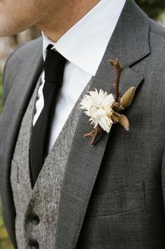 Holidays and Events: Earthy wedding inspiration | Photo by Brian Tropia...