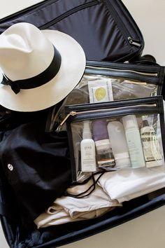 How to Pack Beauty Goodies http://hejdoll.com/pack-beauty-goodies/?utm_campaign=coschedule&utm_source=pinterest&utm_medium=Jessica%20Doll&utm_content=How%20to%20Pack%20Beauty%20Goodies