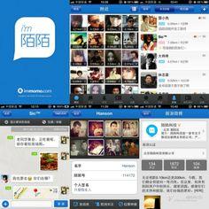 Flirteo móvil en China