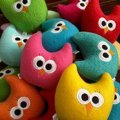Owl Toy for kids/Handmade Baby Toy/Stuffed Owl/Soft Owl