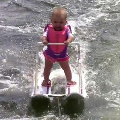 A 6-month-old baby breaks a world record in water skiing. No, really. - parenting.com