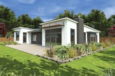 Shed roof shed roof design and modern shed on pinterest for Mono pitch house plans