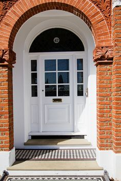Classic Victorian Entrance Door (Victorian) (P20 D82) Doors from the Victorian, Georgian and Edwardi