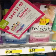 Free Sample Ban Total Refresh Cooling Cloths~ Available Again