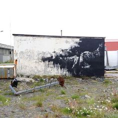 Conor Harrington New Mural In Vardø, Norway