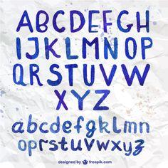 Free vector Watercolor handwritten typography #8512
