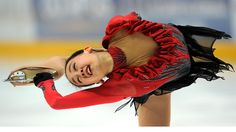 Japan's Mao Asada started out as a ballet dancer, but switched to figure skating.