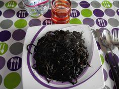 Spaghetti al nero di Seppia!!